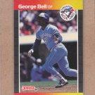 1989 Donruss Baseball George Bell Blue Jays #149
