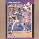 1989 Donruss Baseball John Tudor Dodgers #195
