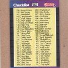 1989 Donruss Baseball Checklisst #200