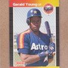 1989 Donruss Baseball Gerald Young Astros #207