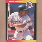 1989 Donruss Baseball Chet Lemon Tigers #209