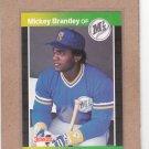 1989 Donruss Baseball Mickey Brantley Mariners #212