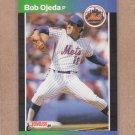 1989 Donruss Baseball Bob Ojeda Mets #218
