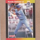 1989 Donruss Baseball Kevin Seitzer Royals #238