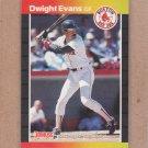 1989 Donruss Baseball Dwight Evans Red Sox #240