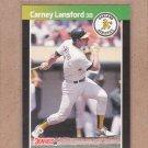 1989 Donruss Baseball Carney Lansford A's #243