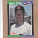 1989 Donruss Baseball Jimmy Jones Padres #247