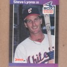 1989 Donruss Baseball Steve Lyons White Sox #253