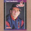 1989 Donruss Baseball Tom Candiotti Indians #256