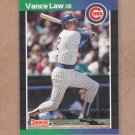 1989 Donruss Baseball Vance Law Cubs #276