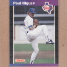 1989 Donruss Baseball Paul Kilgus Rangers #283