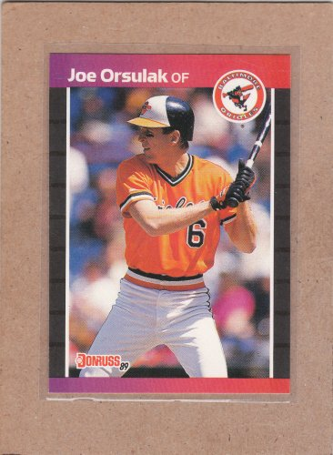 1989 Donruss Baseball Joe Orsulak Orioles #287