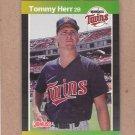 1989 Donruss Baseball Tommy Herr Twins #301