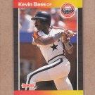 1989 Donruss Baseball Kevin Bass Astros #325