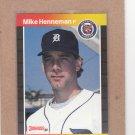 1989 Donruss Baseball Mike Henneman Tigers #327