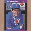1989 Donruss Baseball Les Lancaster Cubs #341