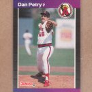 1989 Donruss Baseball Dan Petry Angels #344