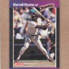 1989 Donruss Baseball Marvell Wynne Padres #347