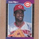 1989 Donruss Baseball Jose Rijo Reds #375