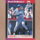 1989 Donruss Baseball Brad Wellman Royals #380