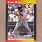 1989 Donruss Baseball Junior Ortiz Pirates #387