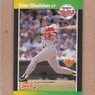 1989 Donruss Baseball Dan Gladden Twins #391