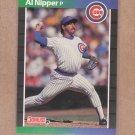 1989 Donruss Baseball Al Nipper Cubs #394
