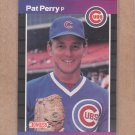 1989 Donruss Baseball Pat Perry Cubs #404