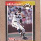 1989 Donruss Baseball Atlee Hammaker Giants #414