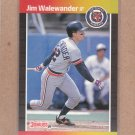 1989 Donruss Baseball Jim Walewander Tigers #415