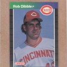1989 Donruss Baseball Rob Dibble RC Reds #426