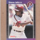 1989 Donruss Baseball Steve Jeltz Phillies #431