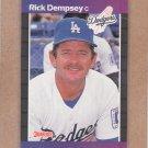 1989 Donruss Baseball Rick Dempsey Dodgers #432