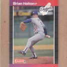 1989 Donruss Baseball Brian Holton Dodgers #439