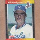1989 Donruss Baseball Jeff Montgomery Royals #440