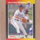 1989 Donruss Baseball Jerry Don Gleaton Royals #444