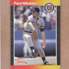 1989 Donruss Baseball Paul Gibson Tigers #445