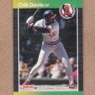 1989 Donruss Baseball Chill Davis Angels #449