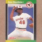 1989 Donruss Baseball Jose Bautista RC Orioles #451