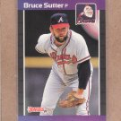 1989 Donruss Baseball Bruce Sutter Braves #458