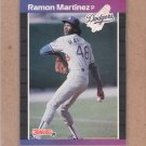 1989 Donruss Baseball Ramon Martinez RC Dodgers #464