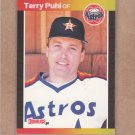 1989 Donruss Baseball Terry Puhl Astros #472