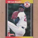 1989 Donruss Baseball Oil Can Boyd Red Sox #476