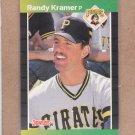 1989 Donruss Baseball Randy Kramer Pirates #480