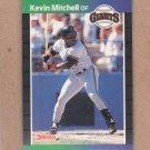 1989 Donruss Baseball Kevin Mitchell Giants #485