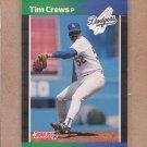 1989 Donruss Baseball Tim Crews Dodgers #486