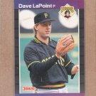 1989 Donruss Baseball Dave LaPoint Pirates #488
