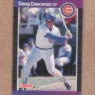 1989 Donruss Baseball Doug Dascenzo Cubs #491