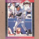 1989 Donruss Baseball Kirt Manwaring Giants #494
