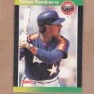 1989 Donruss Baseball Rafael Ramirez Astros #509